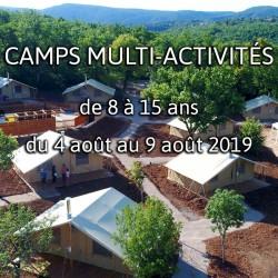 CAMPS 5 MULTI-ACTIVITÉS 2019