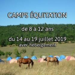 CAMPS 7 ÉQUITATION 2019