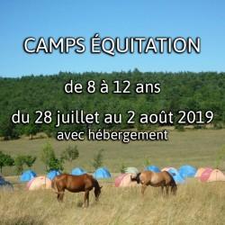 CAMPS 8 ÉQUITATION 2019
