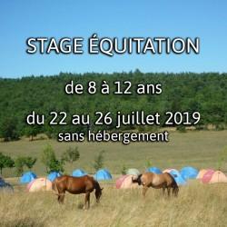 STAGE 1 ÉQUITATION