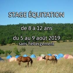 STAGE 2 ÉQUITATION